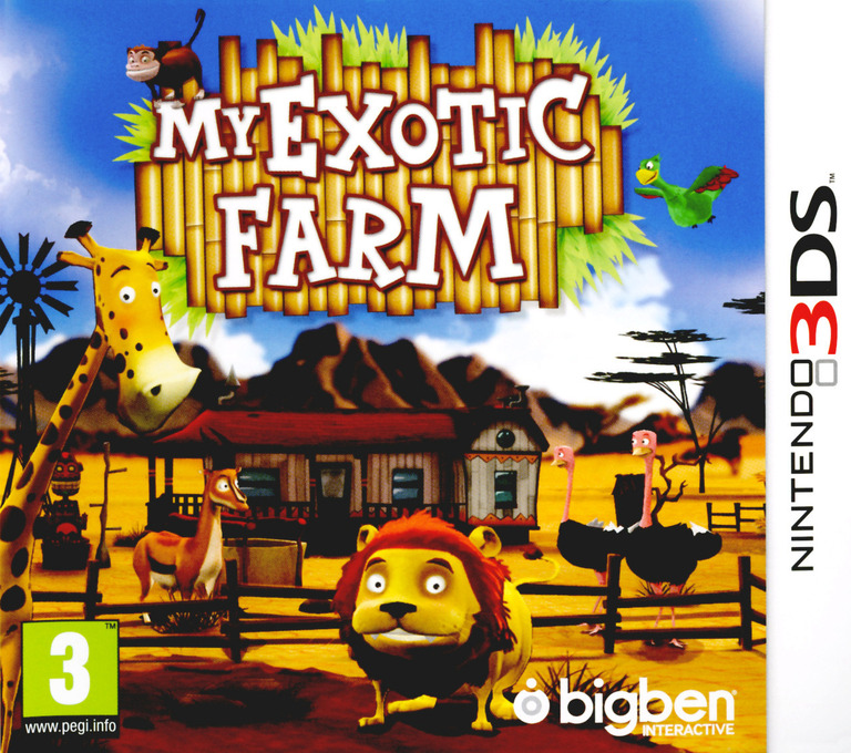 My Exotic Farm 3DS coverHQ (ABUP)