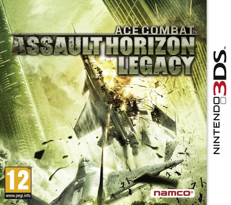 Ace Combat - Assault Horizon Legacy 3DS coverHQ (AC3P)