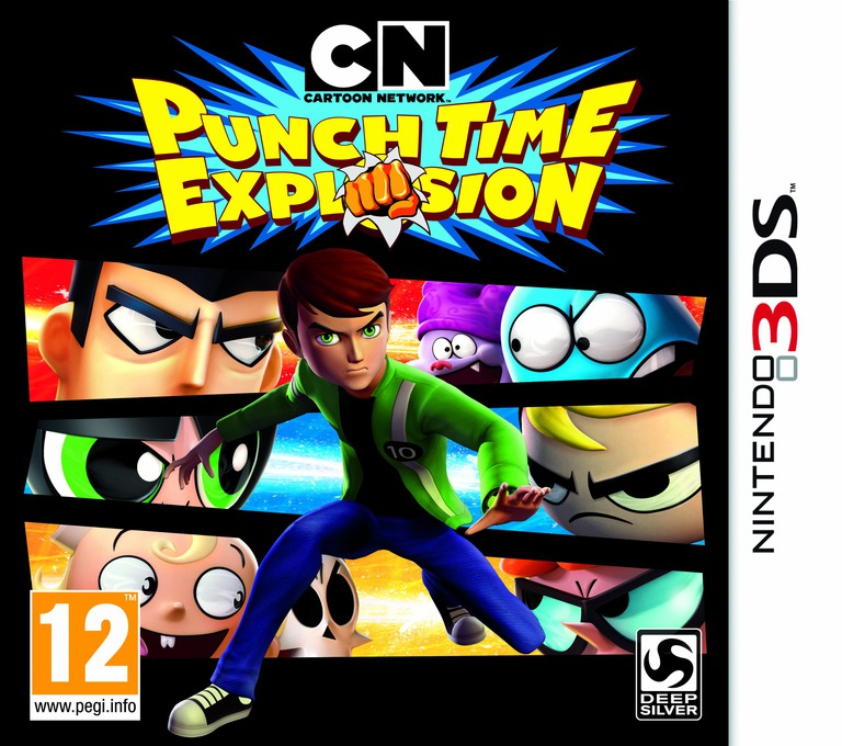 Cartoon Network - Punch Time Explosion 3DS coverHQ (ACNP)
