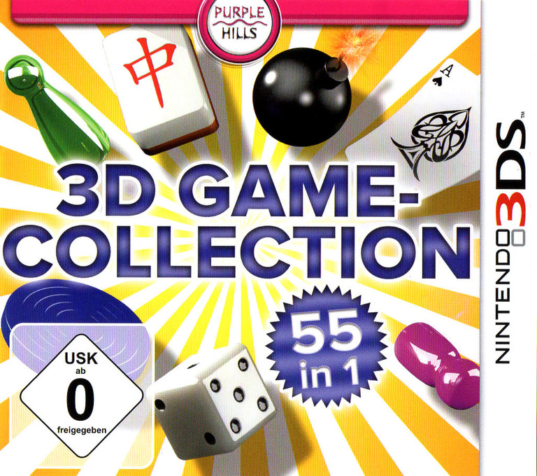 3D Game Collection - 55 in 1 3DS coverHQ (AD3D)