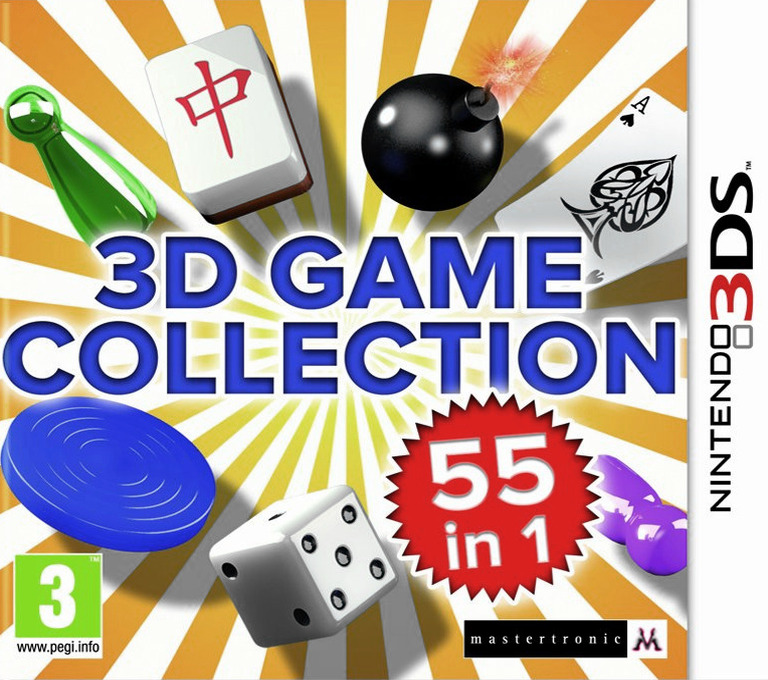 3D Game Collection - 55 in 1 3DS coverHQ (AD3P)