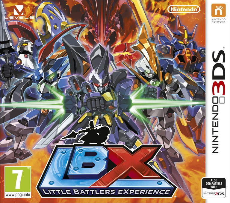 LBX - Little Battlers eXperience 3DS coverHQ (ADNP)