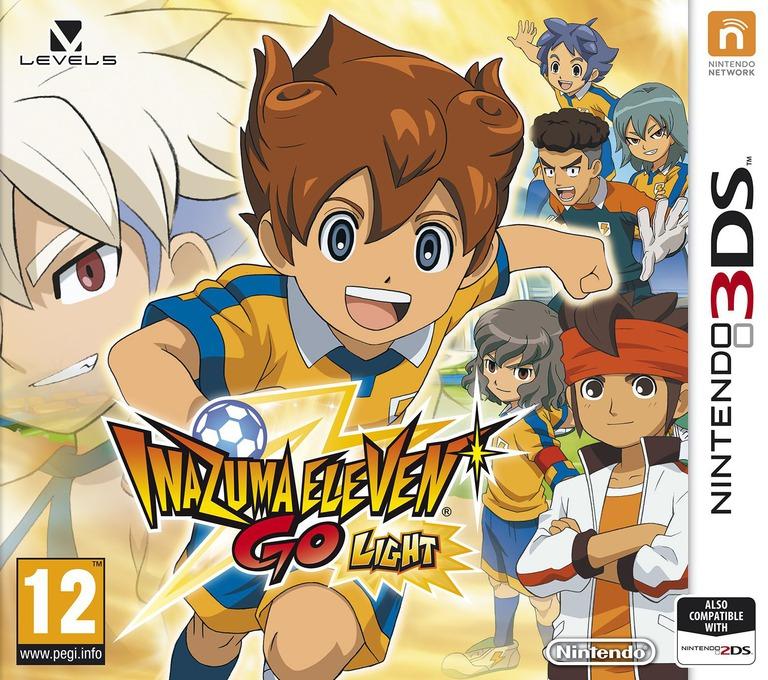 Inazuma Eleven Go - Light 3DS coverHQ (AE4P)
