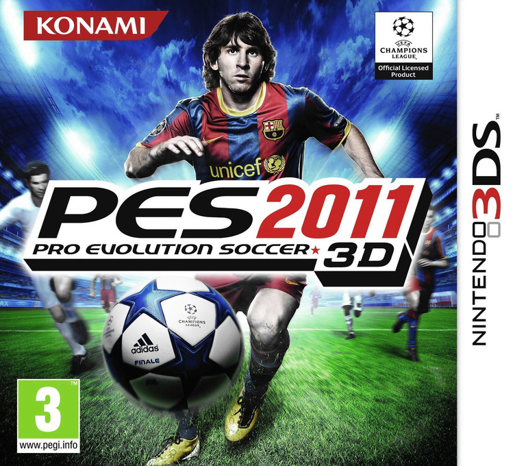 Pro Evolution Soccer 2011 3D 3DS coverHQ (AEEP)