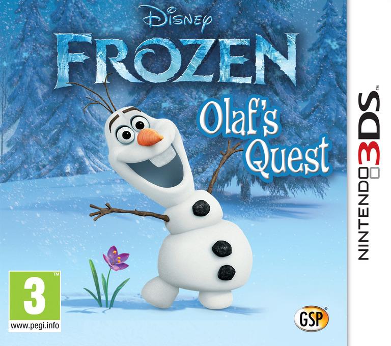 Disney Frozen - Olaf's Quest Array coverHQ (AEHZ)