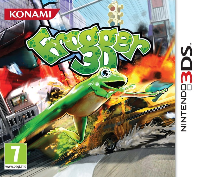 Frogger 3D 3DS coverHQ (AFRP)