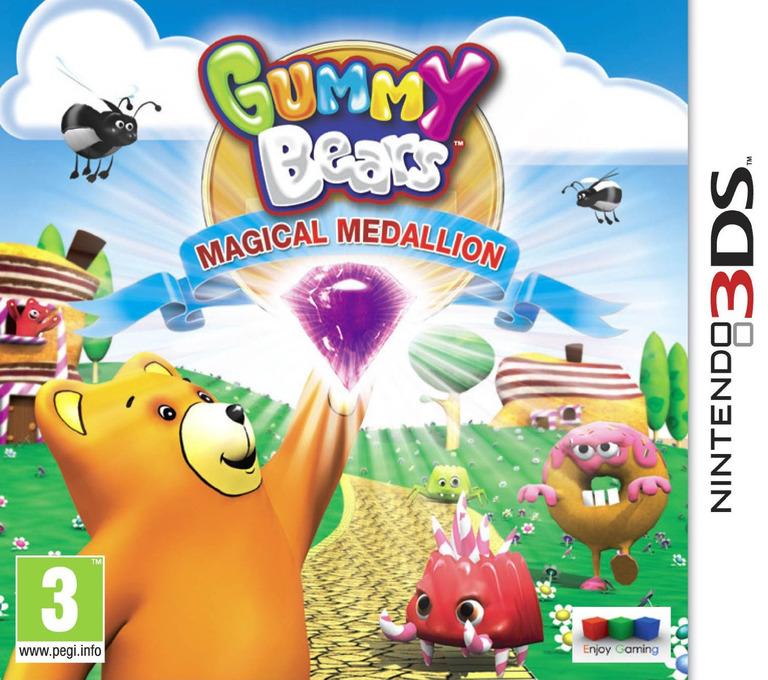 Gummy Bears - Magical Medallion 3DS coverHQ (AGVP)