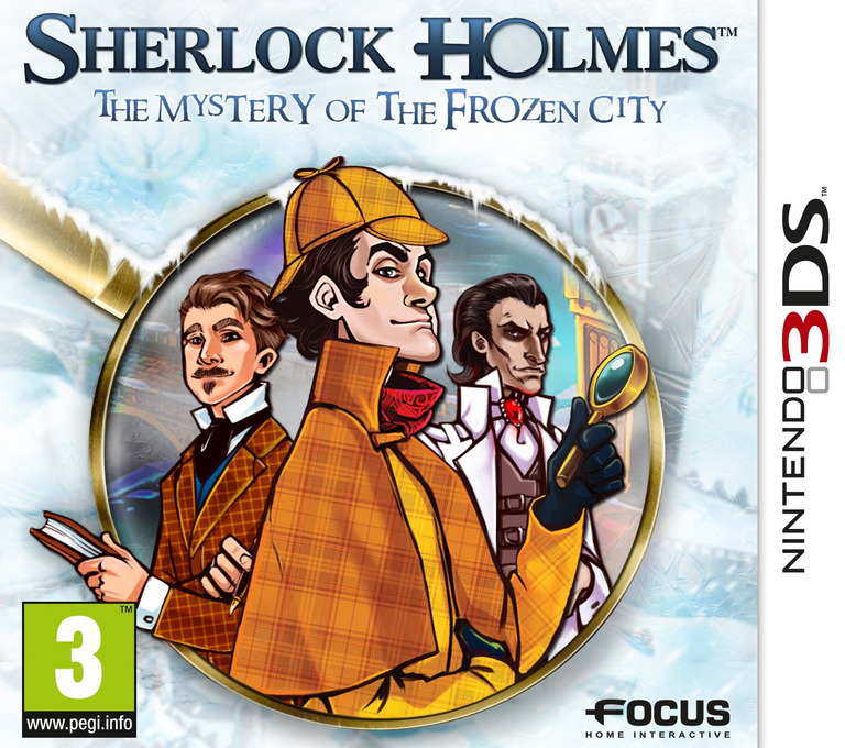 Sherlock Holmes - The Mystery of the Frozen City 3DS coverHQ (AHAP)