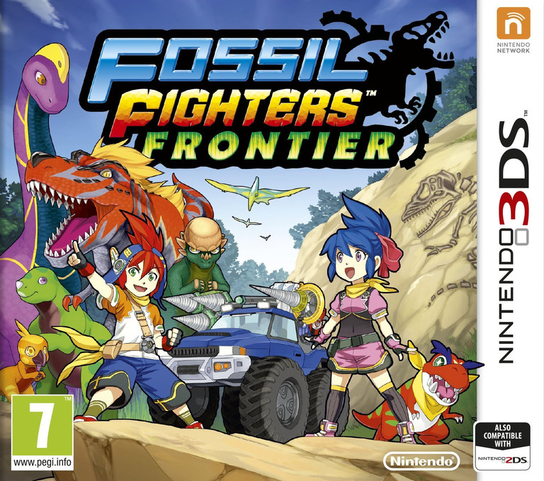 Fossil Fighters - Frontier 3DS coverHQ (AHRD)