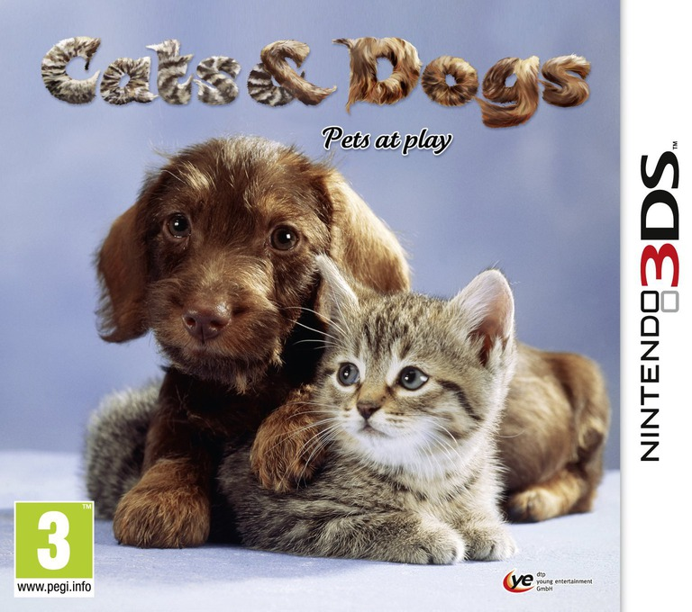 Cats & Dogs - Pets at Play 3DS coverHQ (AHUP)