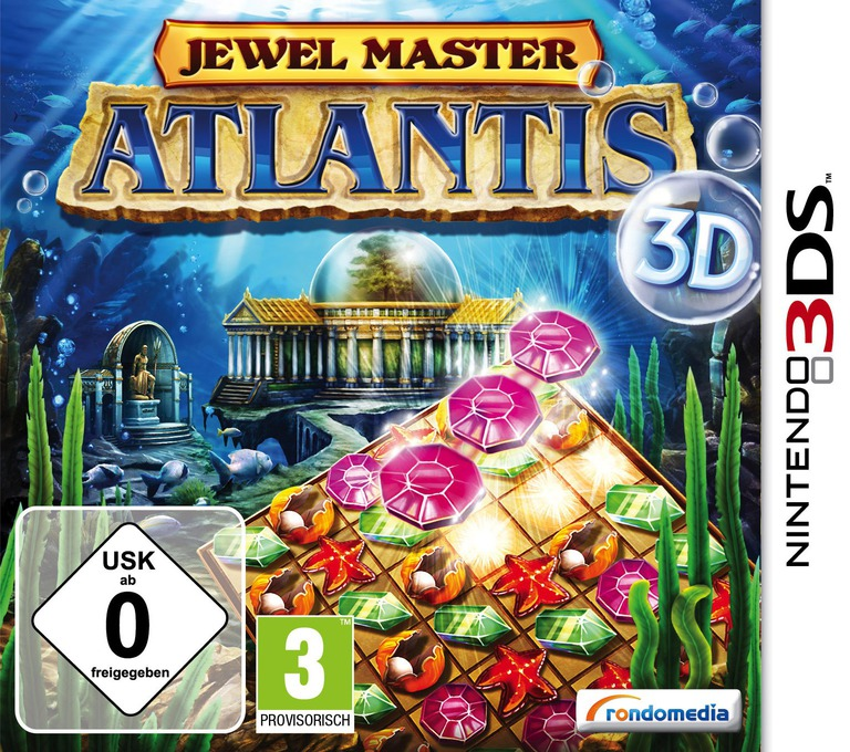 Jewel Master - Atlantis 3D 3DS coverHQ (AJ5X)