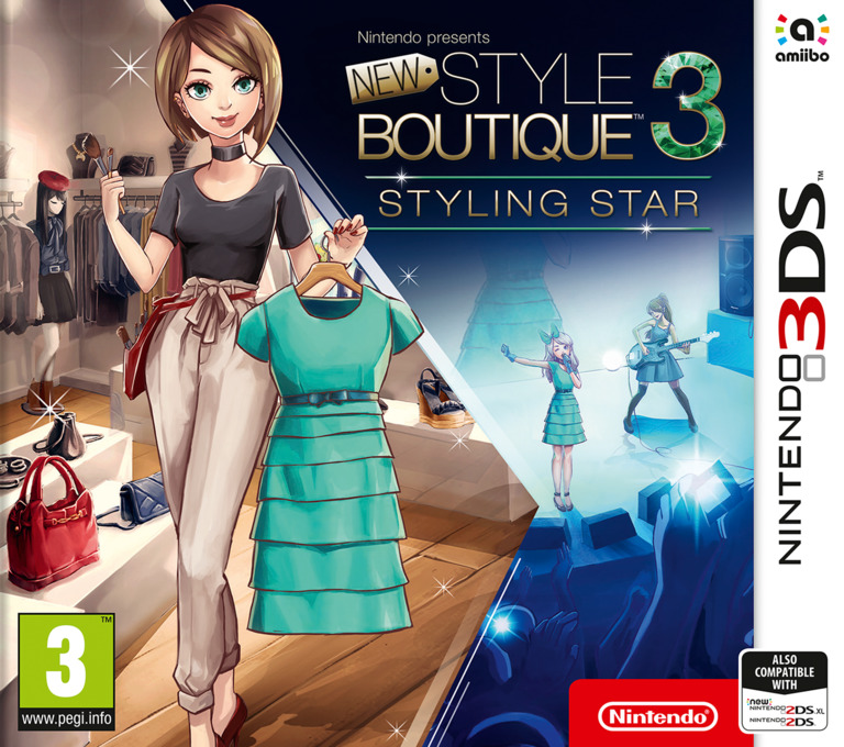 New Style Boutique 3: Styling Star 3DS coverHQ (AJBP)