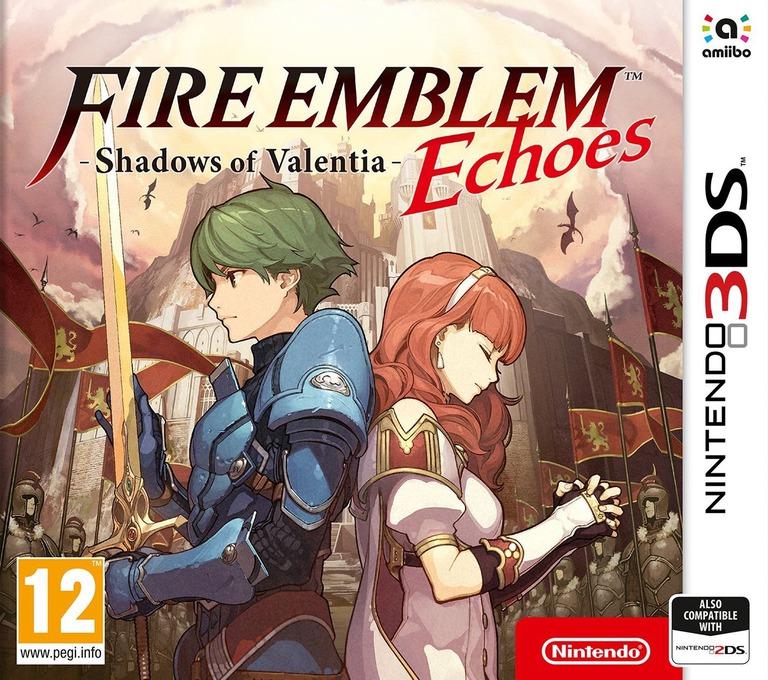 Fire Emblem Echoes: Shadows of Valentia 3DS coverHQ (AJJP)
