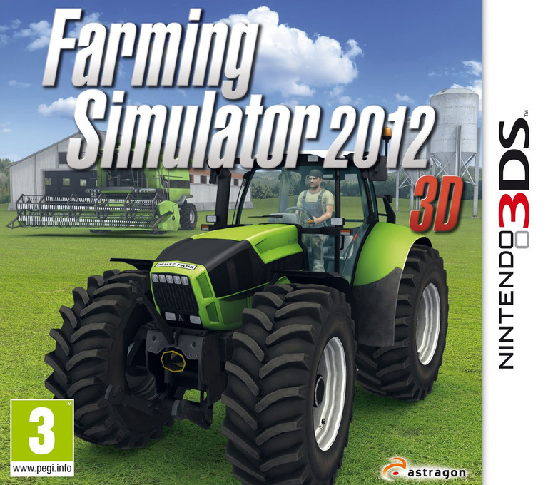 Farming Simulator 2012 3D 3DS coverHQ (AL3P)