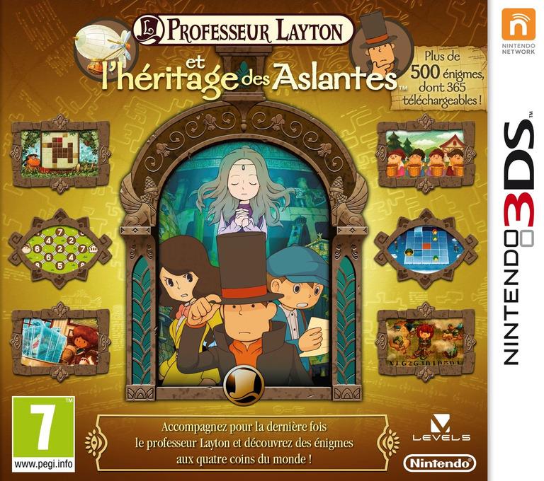 Professeur Layton et l'Heritage des Aslantes 3DS coverHQ (AL6F)