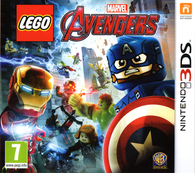 LEGO Marvel's Avengers Array coverHQ (ALEP)