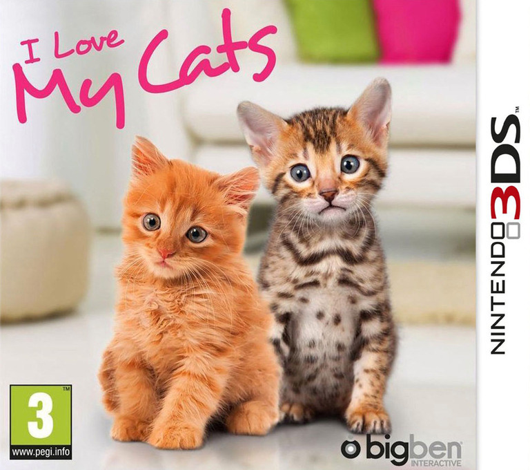 I Love My Cats 3DS coverHQ (ALKP)