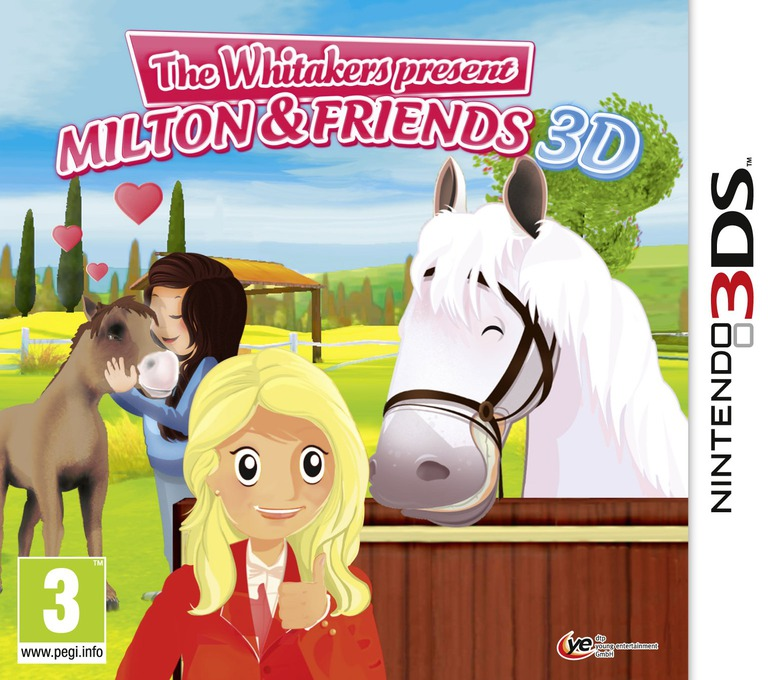 The Whitakers Present - Milton & Friends 3D 3DS coverHQ (AM3P)