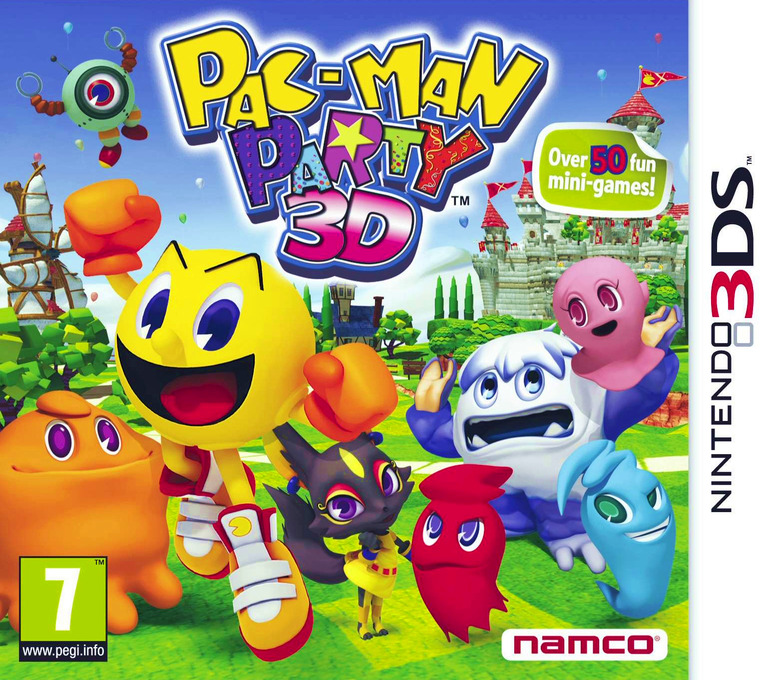 Pac-Man Party 3D 3DS coverHQ (AP9P)