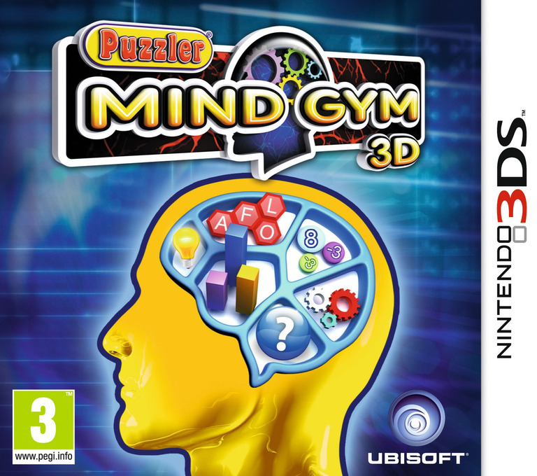 Puzzler Mind Gym 3D 3DS coverHQ (APUP)