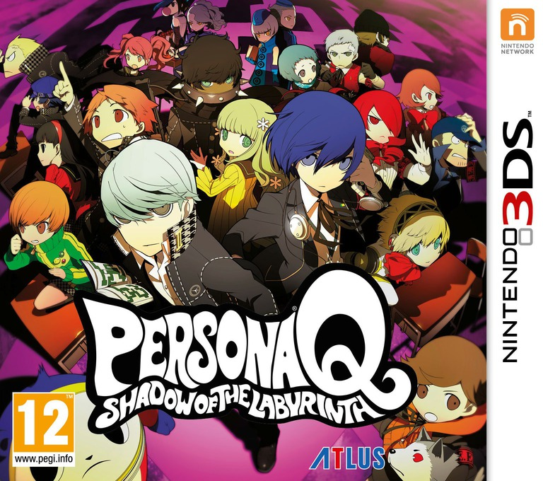 Persona Q - Shadow of the Labyrinth 3DS coverHQ (AQQP)