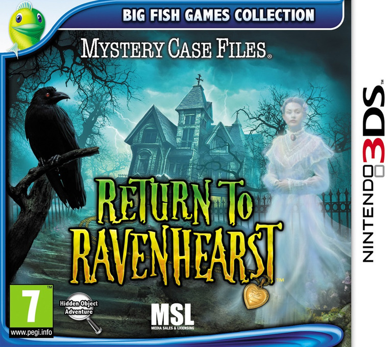 Mystery Case Files - Return to Ravenhearst 3DS coverHQ (AR2P)