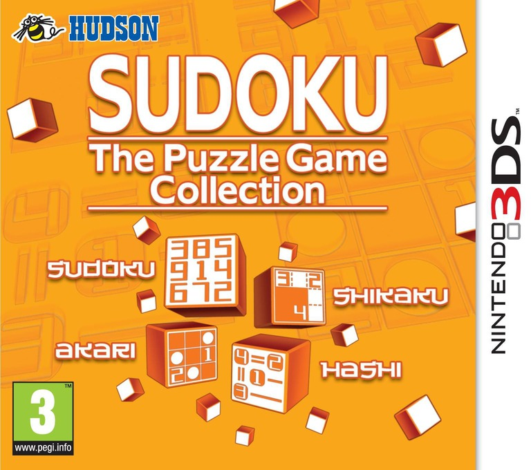 Sudoku - The Puzzle Game Collection 3DS coverHQ (AS9P)