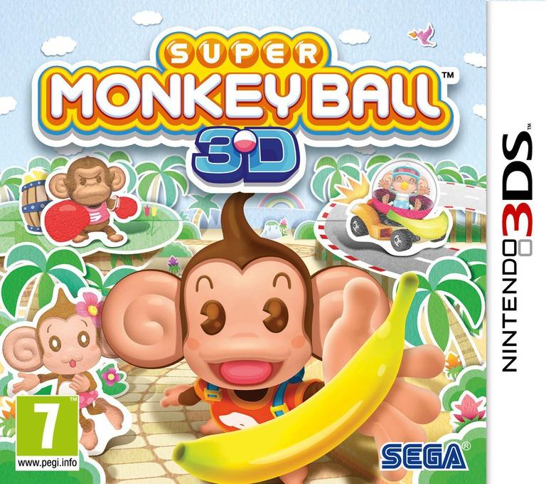 Super Monkey Ball 3D 3DS coverHQ (ASMP)