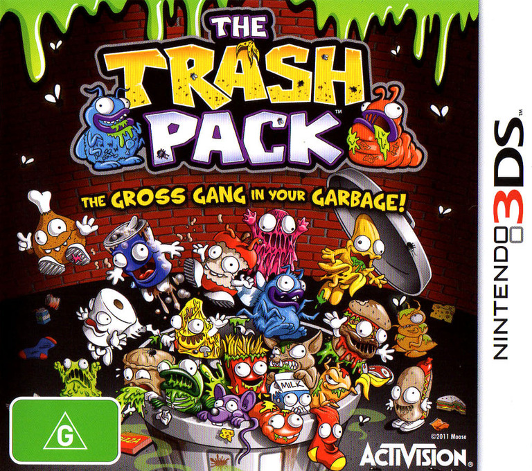 The Trash Pack 3DS coverHQ (ATZP)