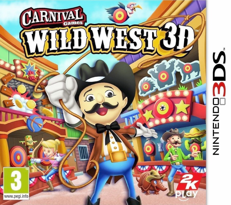 Carnival Games - Wild West 3D 3DS coverHQ (AW2P)