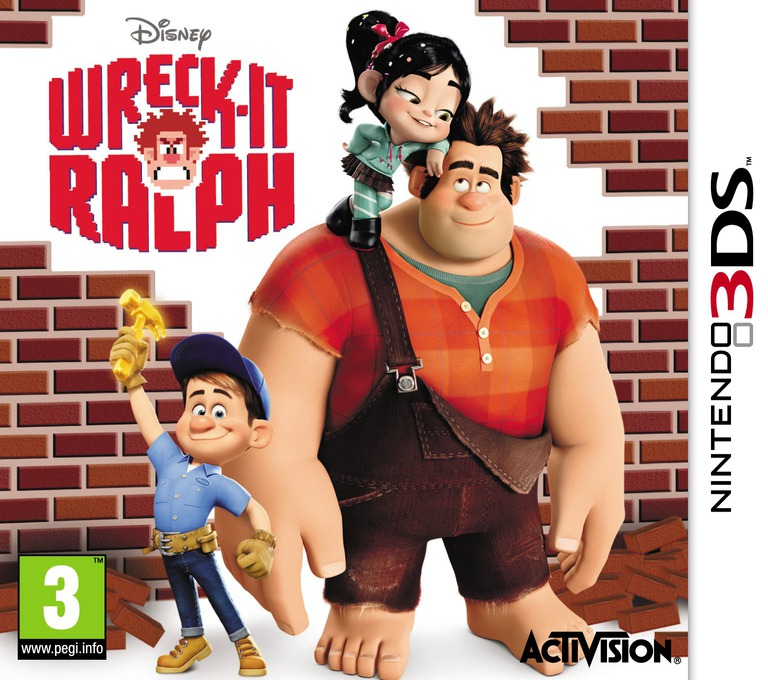 Wreck-It Ralph 3DS coverHQ (AWRP)