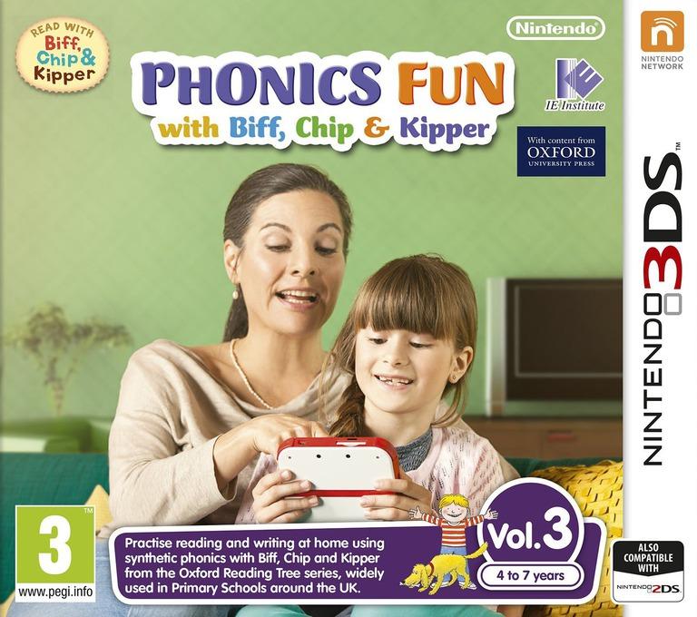 Phonics Fun with Biff, Chip & Kipper Vol. 3 3DS coverHQ (AX3P)