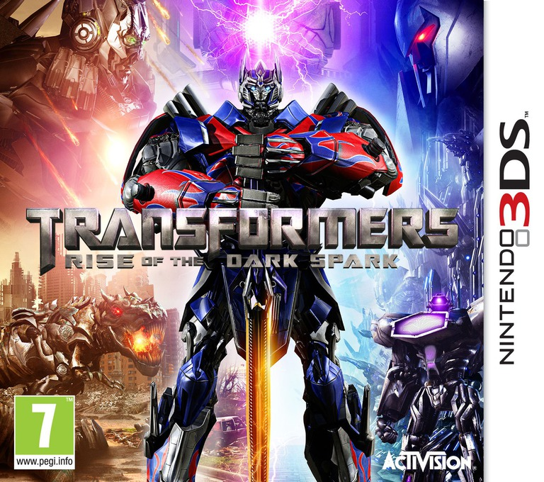 Transformers - Rise of the Dark Spark 3DS coverHQ (AYEP)