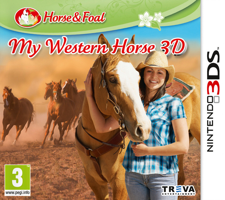 My Western Horse 3D 3DS coverHQ (AZHP)