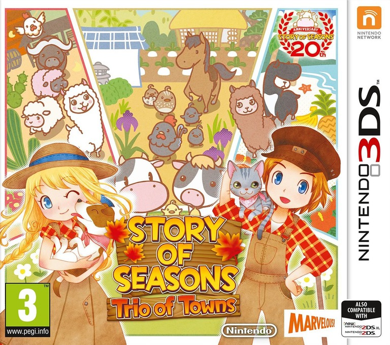 Story of Seasons: Trio of Towns 3DS coverHQ (BB3P)