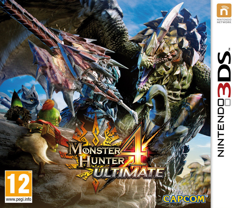Monster Hunter 4 Ultimate 3DS coverHQ (BFGP)