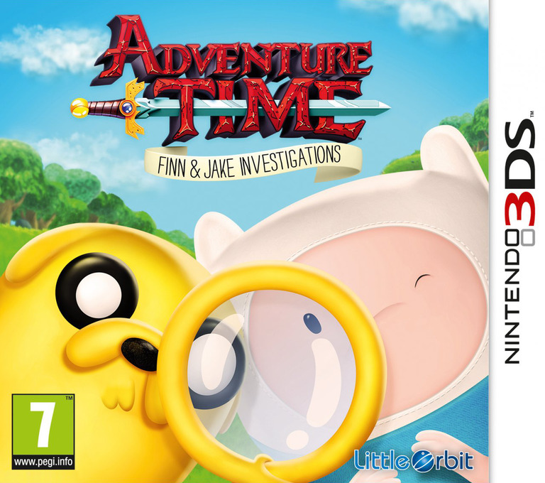 Adventure Time - Finn & Jake Investigations 3DS coverHQ (BFNP)
