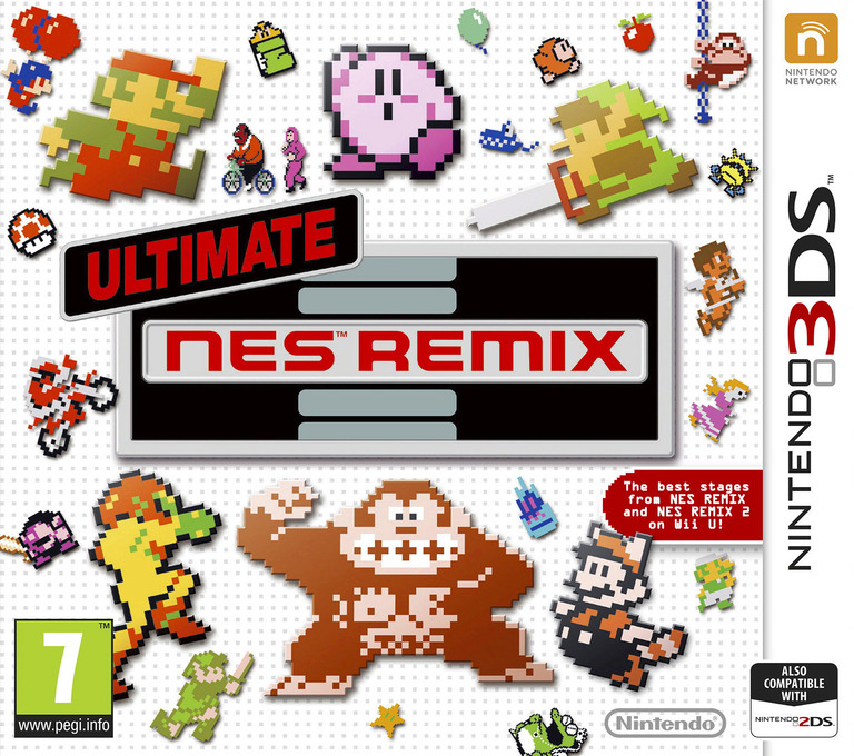 Ultimate NES Remix 3DS coverHQ (BFRP)