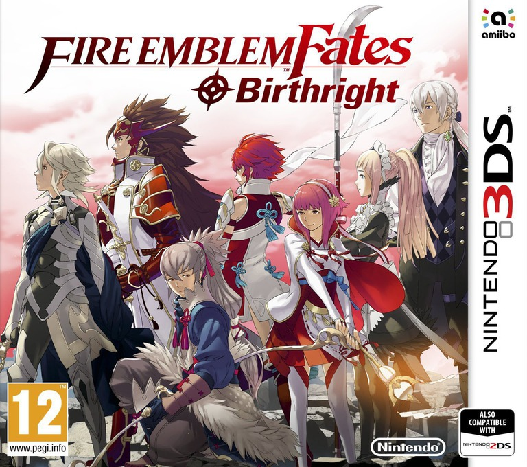Fire Emblem Fates - Birthright 3DS coverHQ (BFXP)