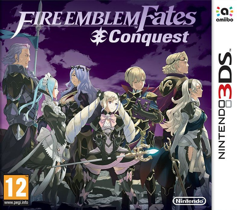 Fire Emblem Fates - Conquest 3DS coverHQ (BFYP)