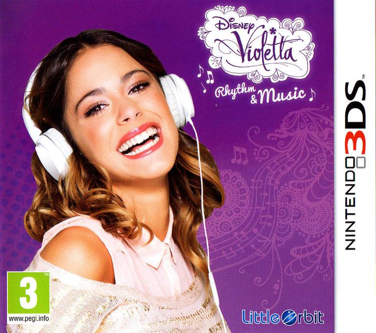 Disney Violetta - Rhythm & Music 3DS coverHQ (BGRP)