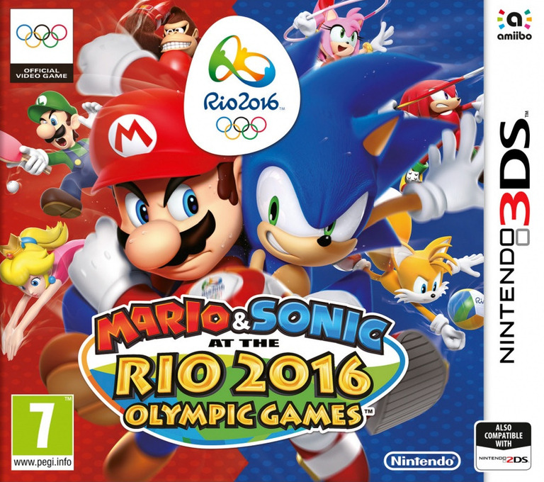 Resultado de imagen para Mario _And_ Sonic_At_The_Rio _2016 3DS COVER