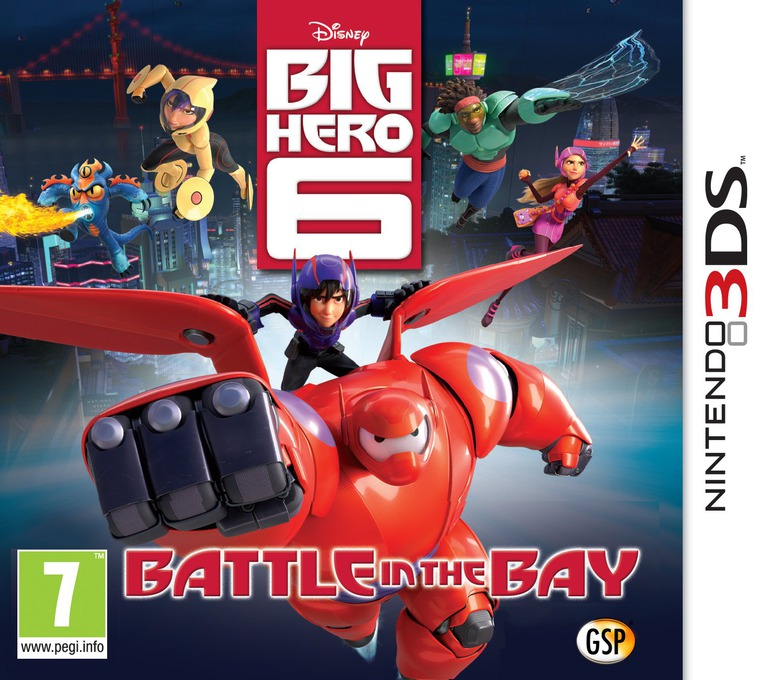 Big Hero 6 - Battle in the Bay 3DS coverHQ (BH6Z)