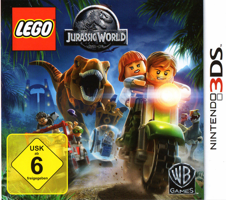 LEGO Jurassic World Array coverHQ (BLJZ)