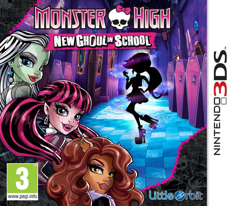 Monster High - New Ghoul in School 3DS coverHQ (BMSP)