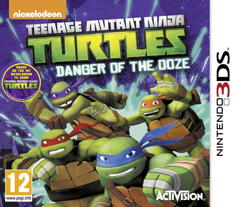 Teenage Mutant Ninja Turtles - Danger of the Ooze 3DS coverHQ (BMUP)