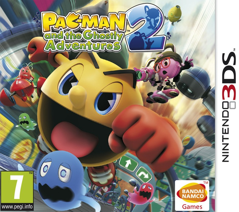 Pac-Man and the Ghostly Adventures 2 3DS coverHQ (BPMP)