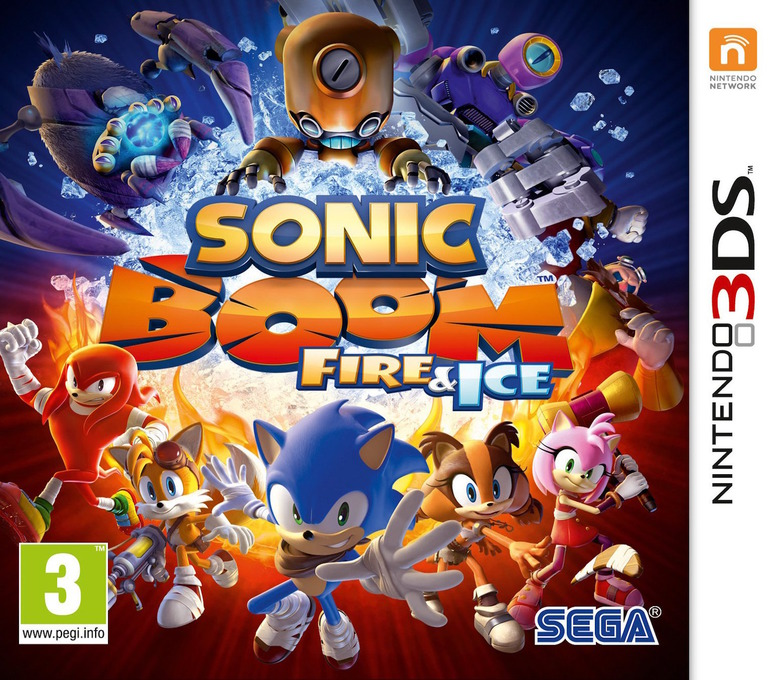 Sonic Boom: Fire & Ice Array coverHQ (BS6P)