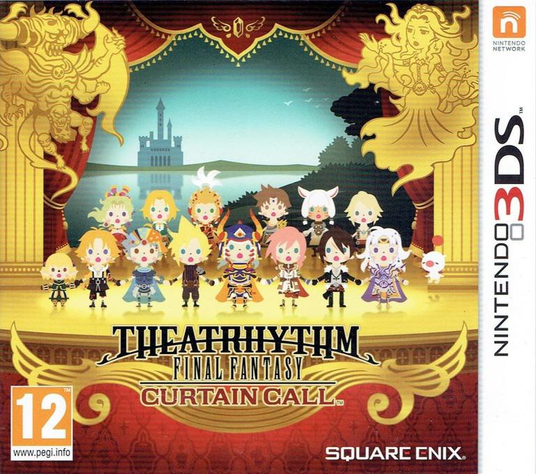 Theatrhythm Final Fantasy - Curtain Call 3DS coverHQ (BTHP)