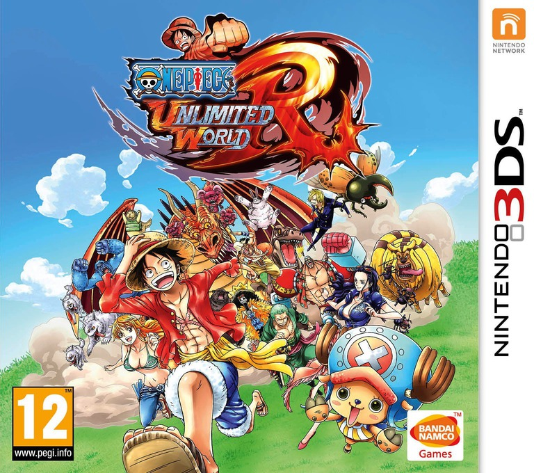 One Piece - Unlimited World Red 3DS coverHQ (BUWP)